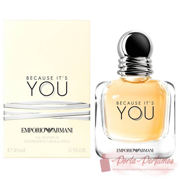 comprar Decant / Amostra do Perfume Feminino Emporio Armani Because It's You Eau de Parfum (EDP)