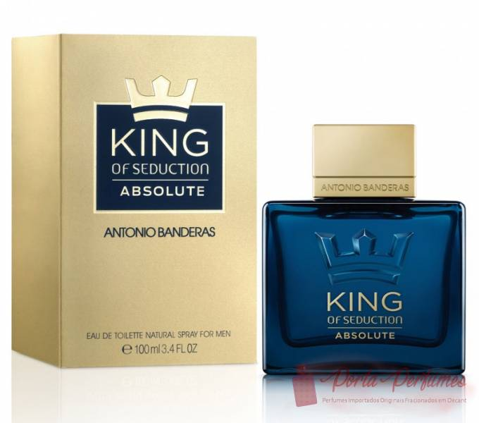 comprar Decant / Amostra do Perfume Masculino Antonio Banderas King of Seduction Absolute (EDT)