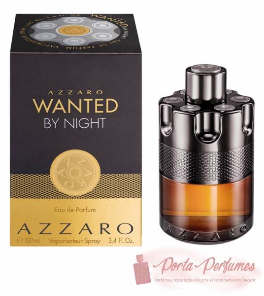 comprar Decant / Amostra do Perfume Masculino Azzaro Wanted By Night Eau de Parfum (EDP)