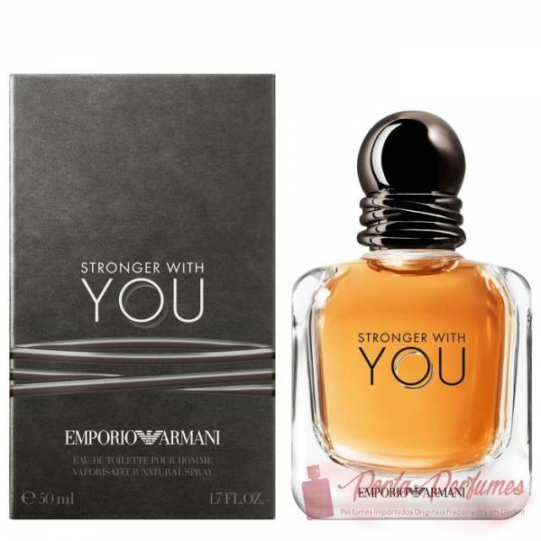 comprar Decant / Amostra do Perfume Masculino Emporio Armani Stronger With You Eau de Toilette (EDT)