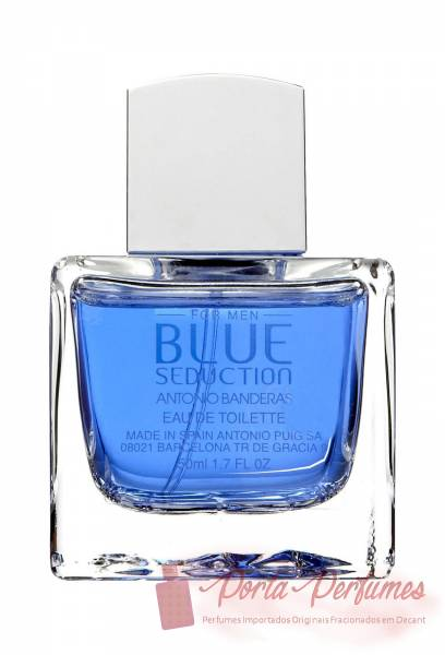 comprar Decant / Amostra do Perfume Masculino Antonio Banderas Blue Seduction Eau de Toilette (EDT)